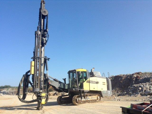2011 ATLAS COPCO FLEXI ROC T50 -STOCK # 4133