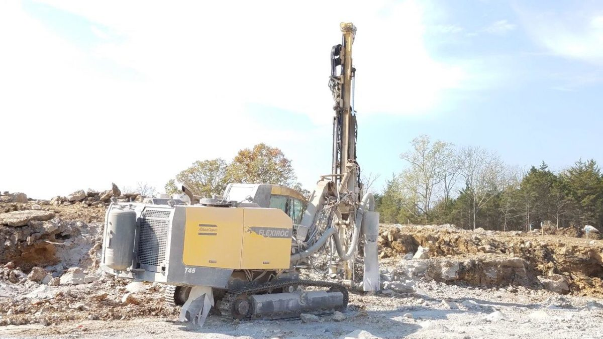 2013 ATLAS COPCO FLEXI ROC T45-11 – STOCK # 4134